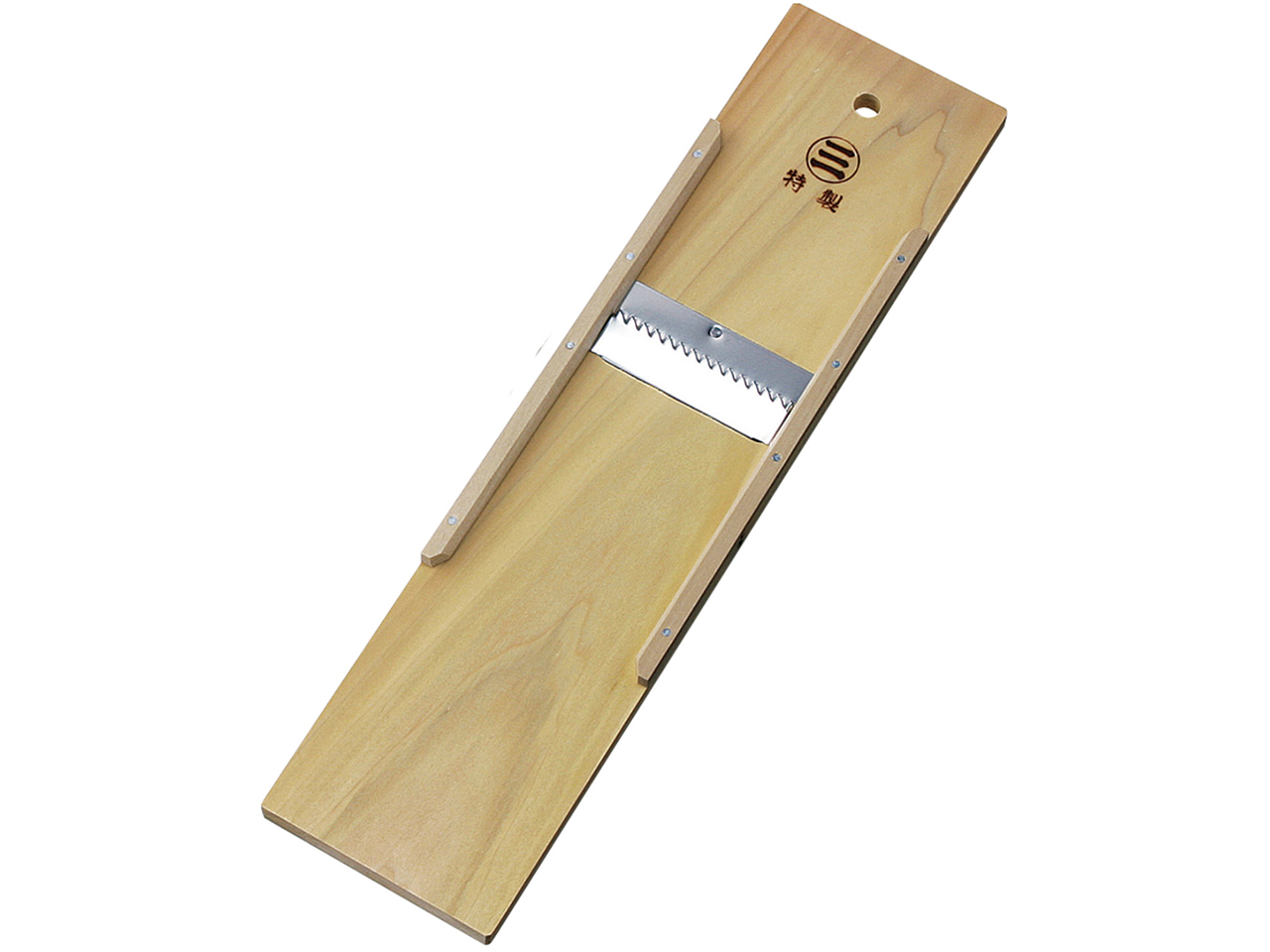 木製調理器 「切干突 小」(板の長さ約45cm)切干大根作りに!