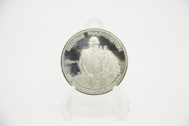 ジョージワシントン ハーフダラー 生誕250周年記念硬貨