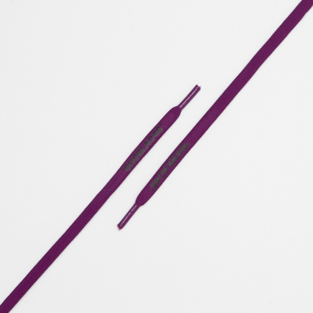 "OVAL LACES SOLID ""SHOELACES/PURPLE"""