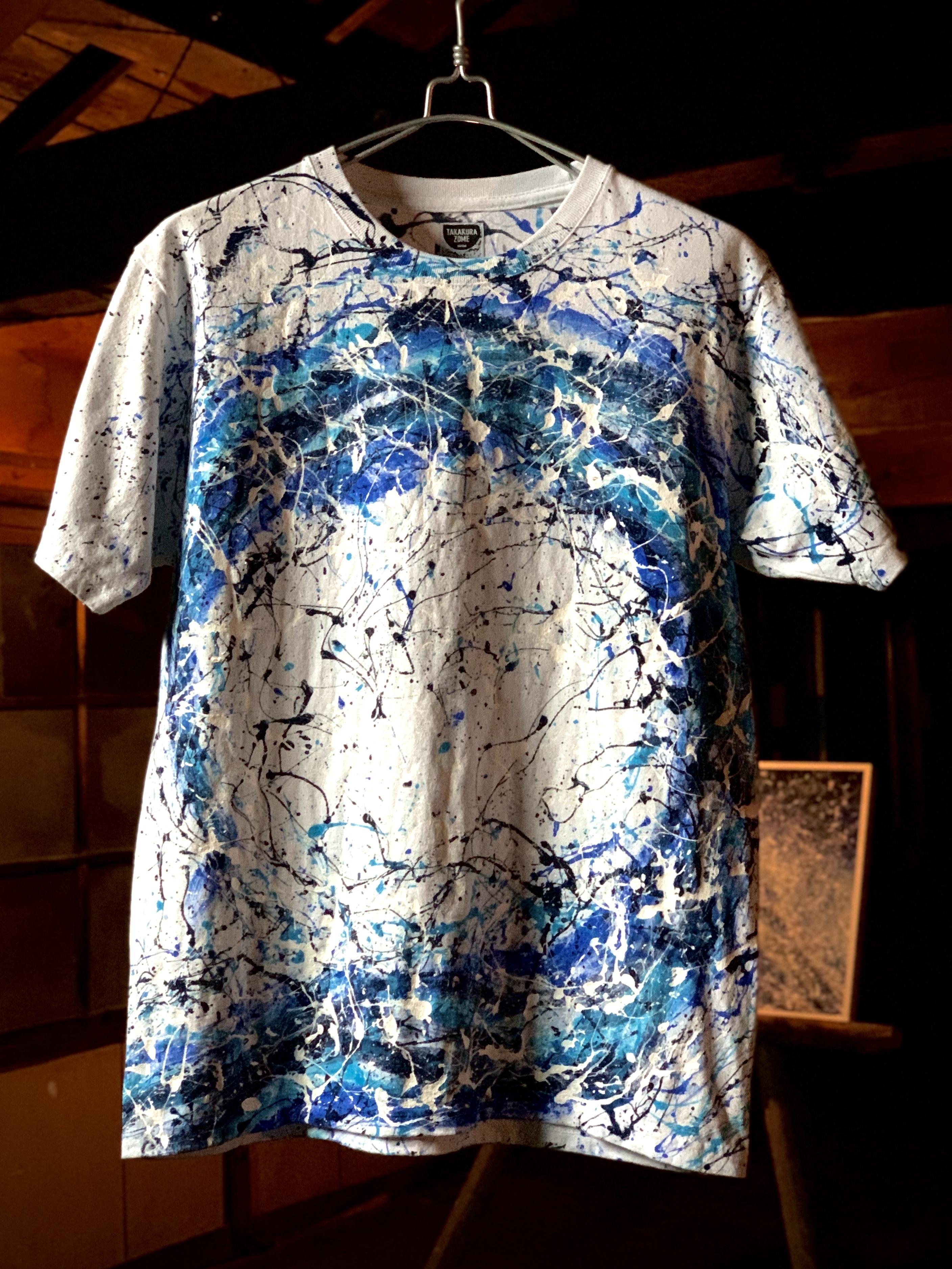 Blue Wave シブキTシャツ