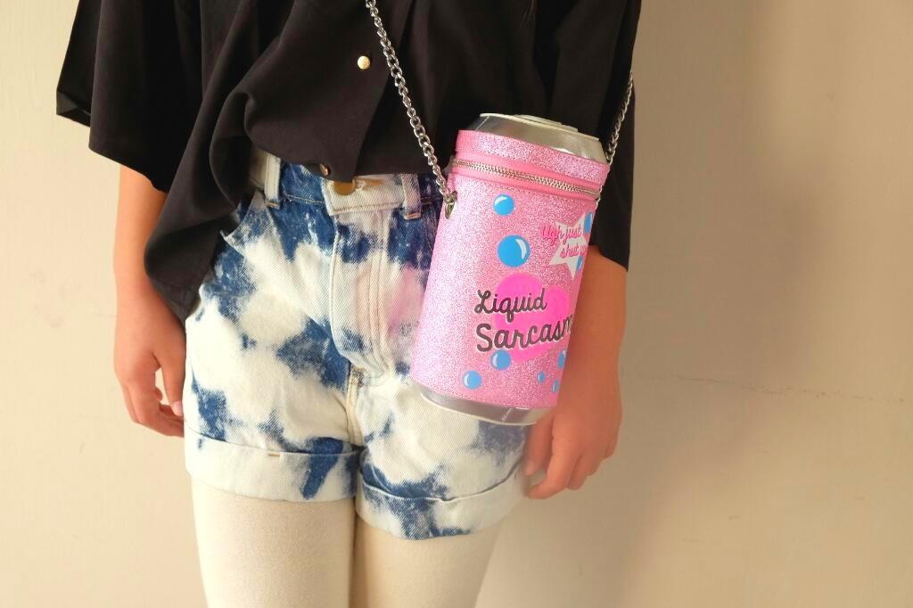 last sale!!!skinnydiplondon liquid sarcasm bag
