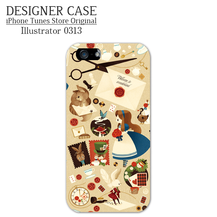 iPhone6 Soft case[Alice to shoutaijou] Illustrator:0313