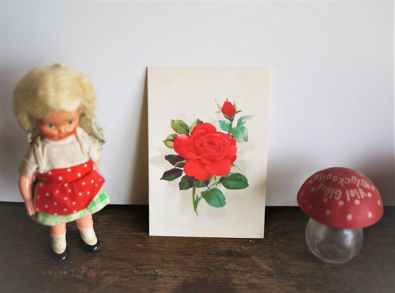 サンリオ×ホールマーク メッセージカード 赤いバラ