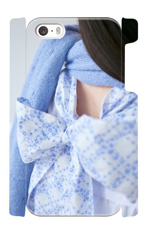 《受注生産》iphone5/5s/SEケース:back ribbon
