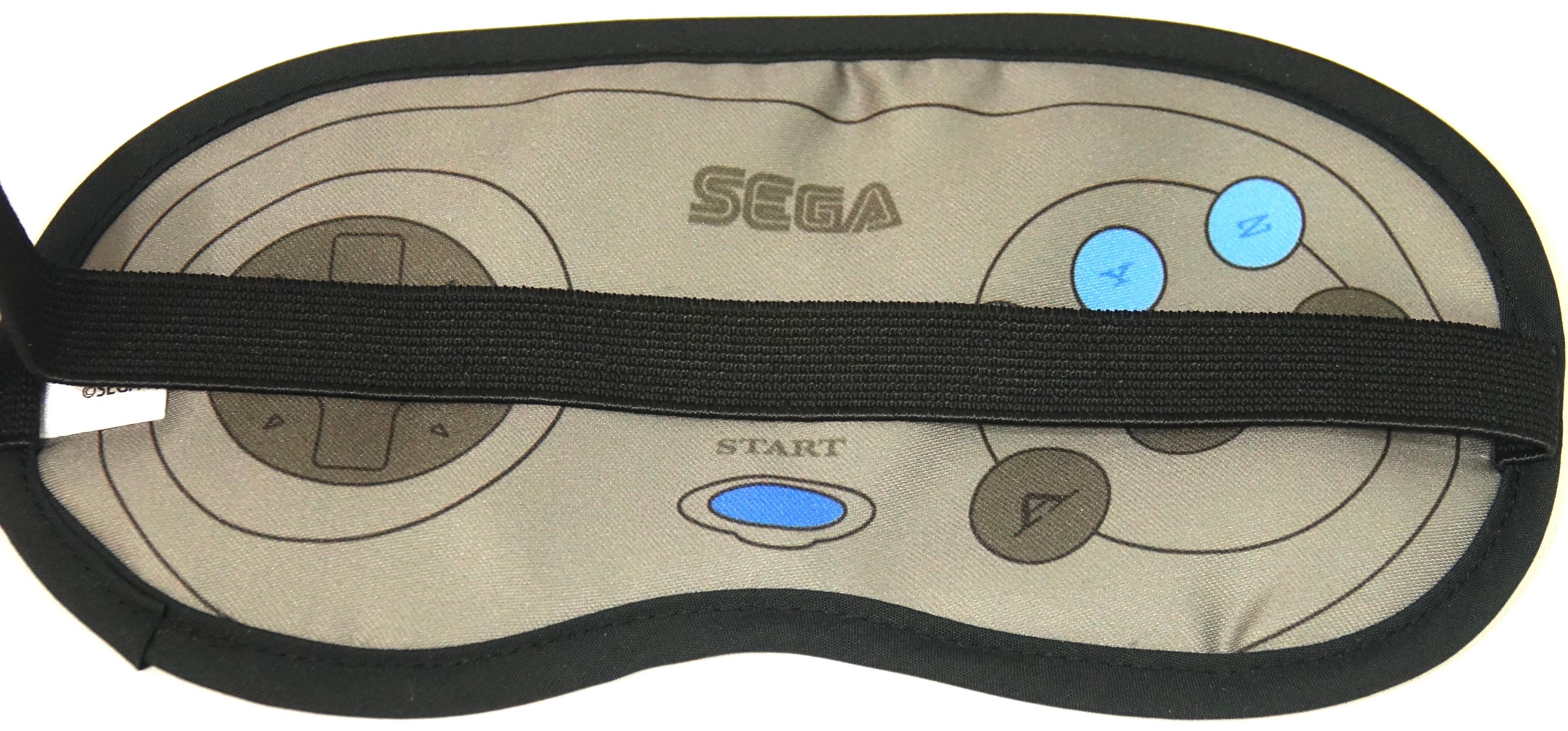 SEGA メガドライブ&セガサターン コントローラー アイマスク / ANIPPON