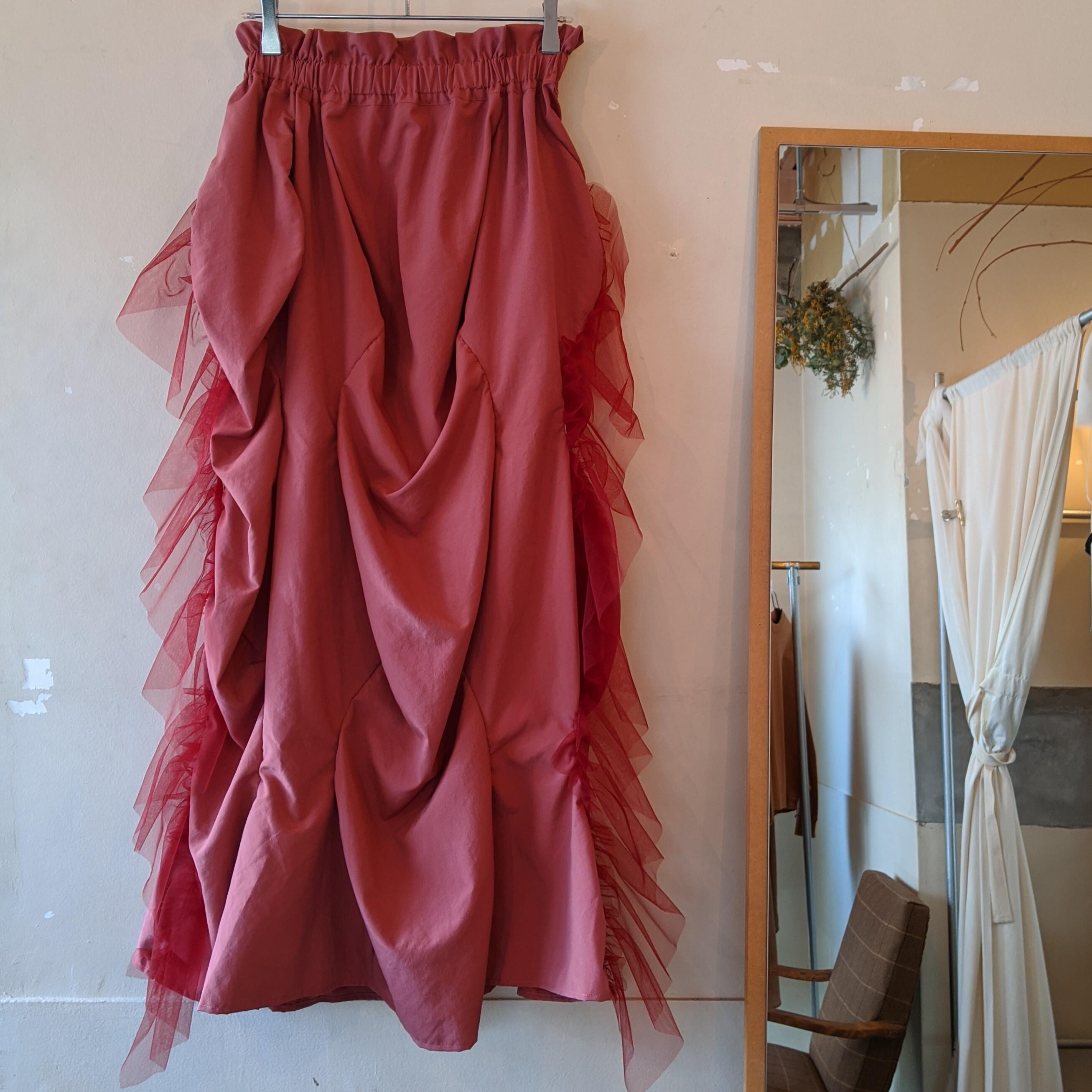 【 HOUGA 】ホウガ turip skirt  / チューリップスカート PINK