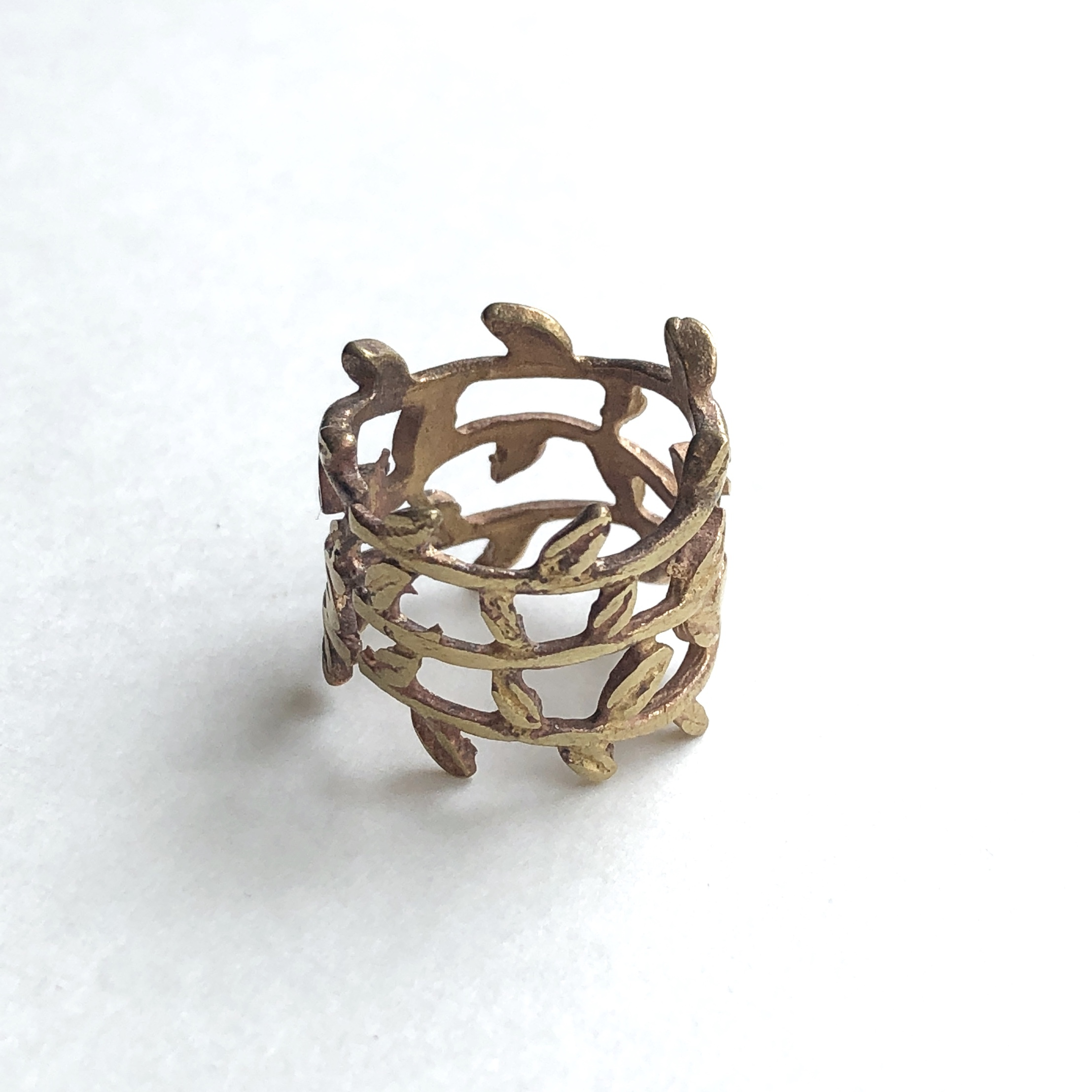 Leaves Ring -  RG-047
