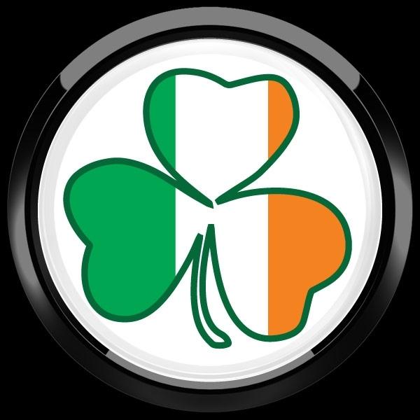 ゴーバッジ(ドーム)(CD0988 - Seasonal Irish Shamrock 1) - 画像3