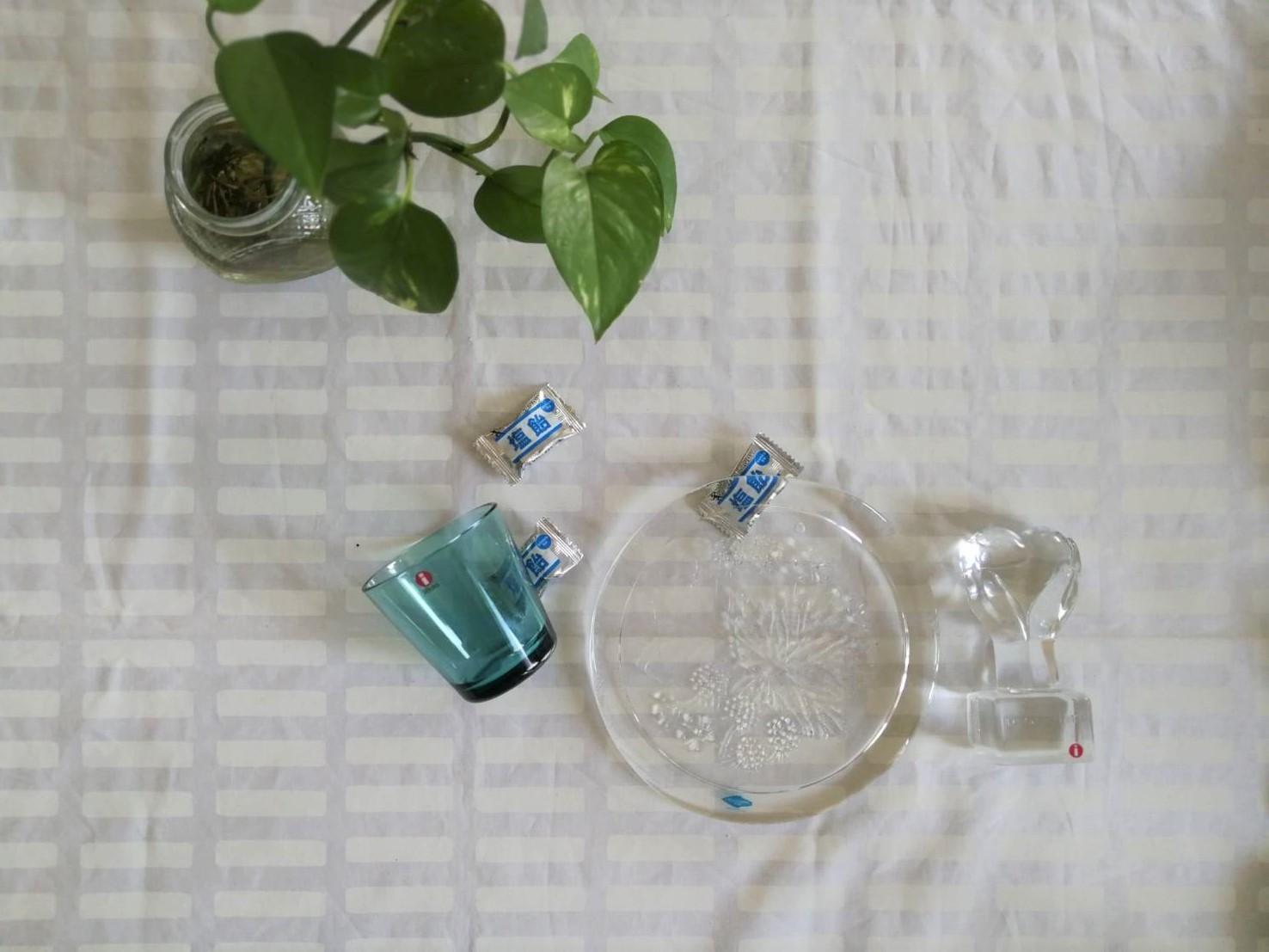 ガラスのオーナメント / NUUTAJARVI ヌータヤルヴィ /  Lapin Marjat ラズベリー / CL