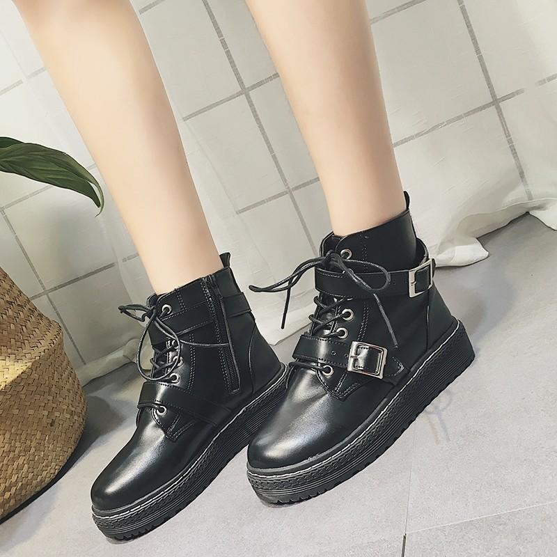 【shoes】 カジュアル大好評レトロショートブーツ13852420