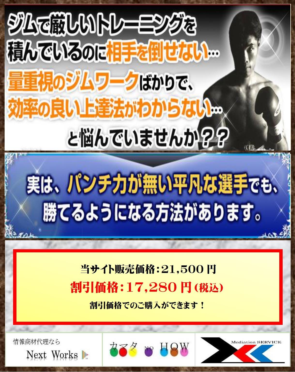 ボクシング上達プログラム~テクニックで相手を倒す理論的練習法~【OPBF東洋太平洋スーパーフェザー級王座 三谷大和 監修】DVD2枚組