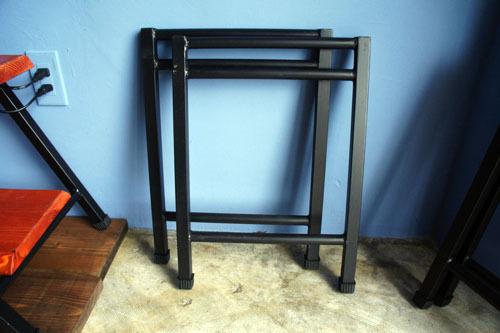 差し込み型鉄脚2段/2脚1セット(屋内使用)