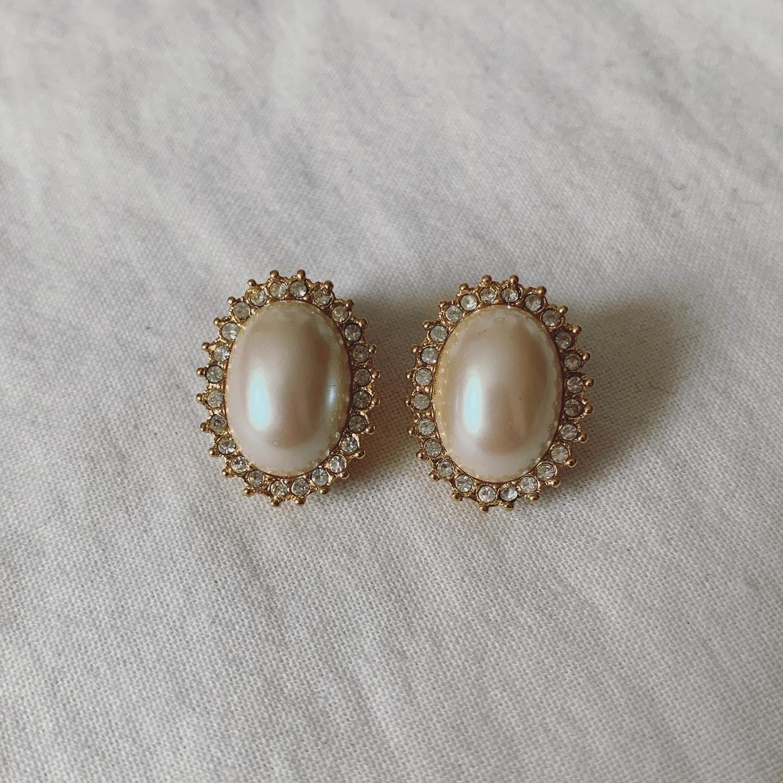 vintage Monet earring