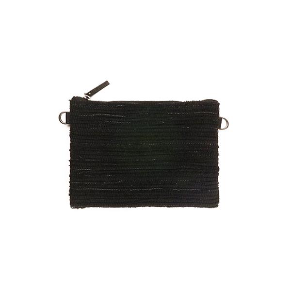 Flat Pouch / Black × Black : 2110200200402