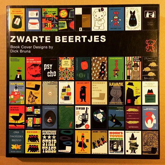 デザインの本「Zwarte Beertjes ディック・ブルーナ 装丁の仕事」 - 画像1