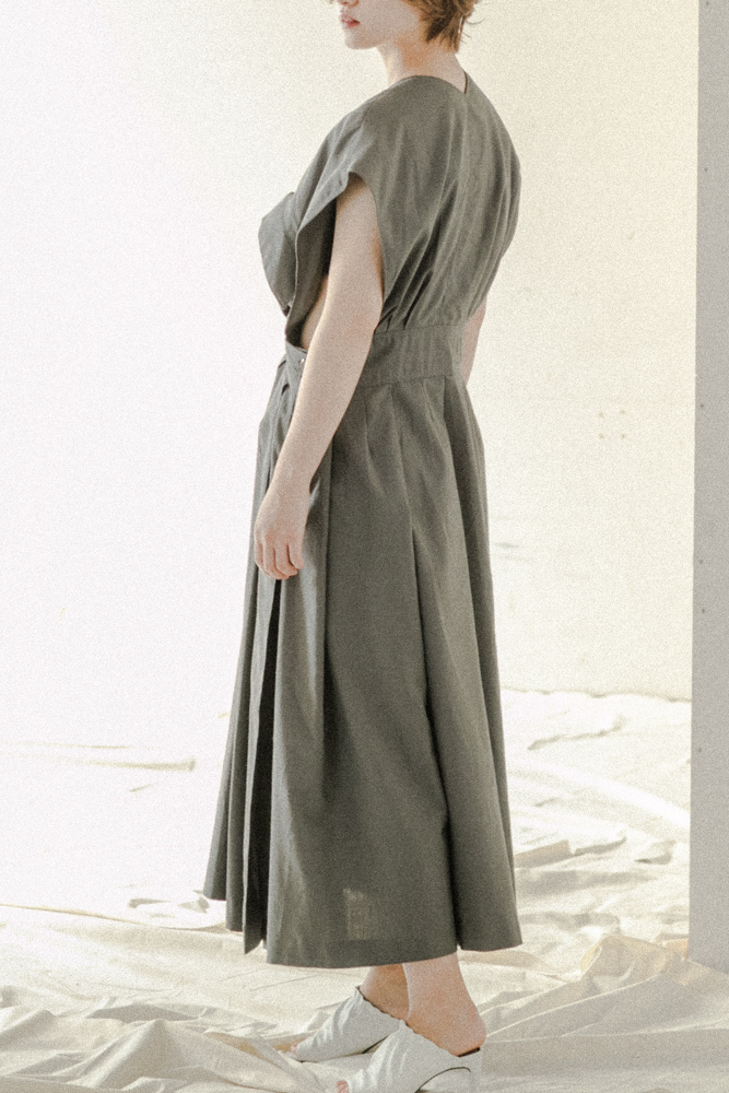 80's New Wave Era / Cotton Dress