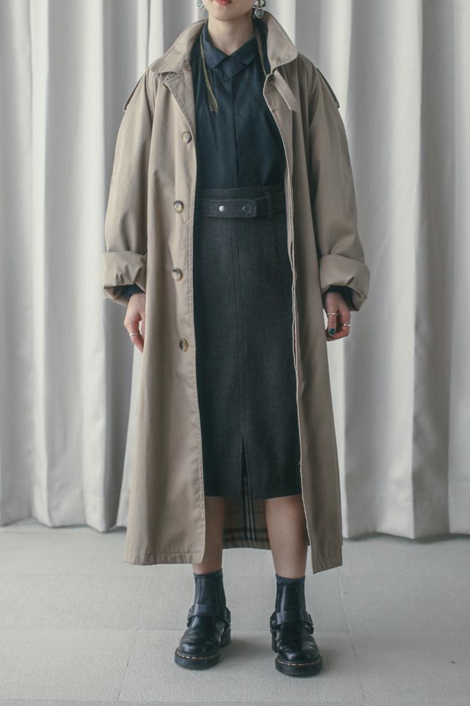 90's Balmacaan Coat