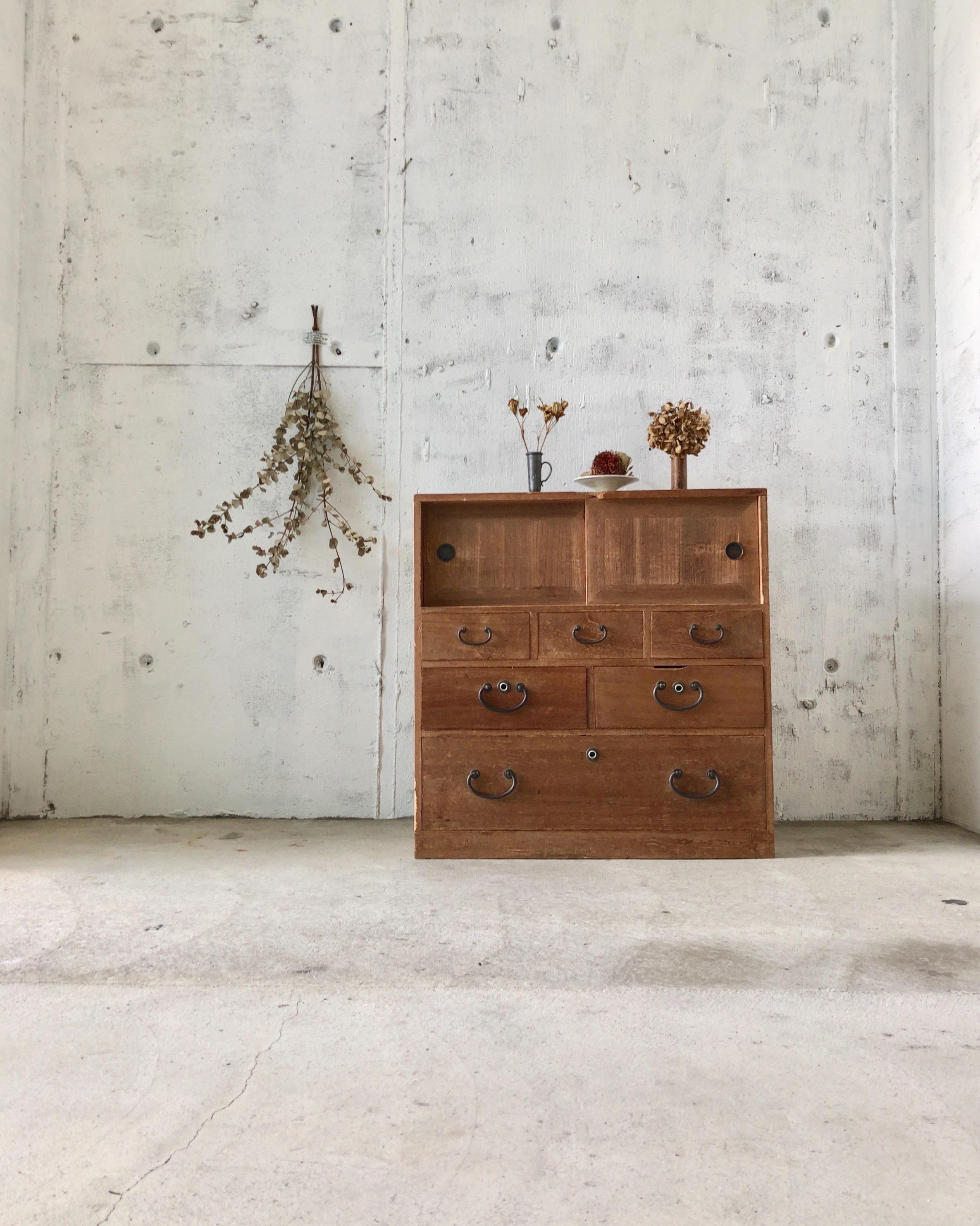レトロな収納棚[古家具]