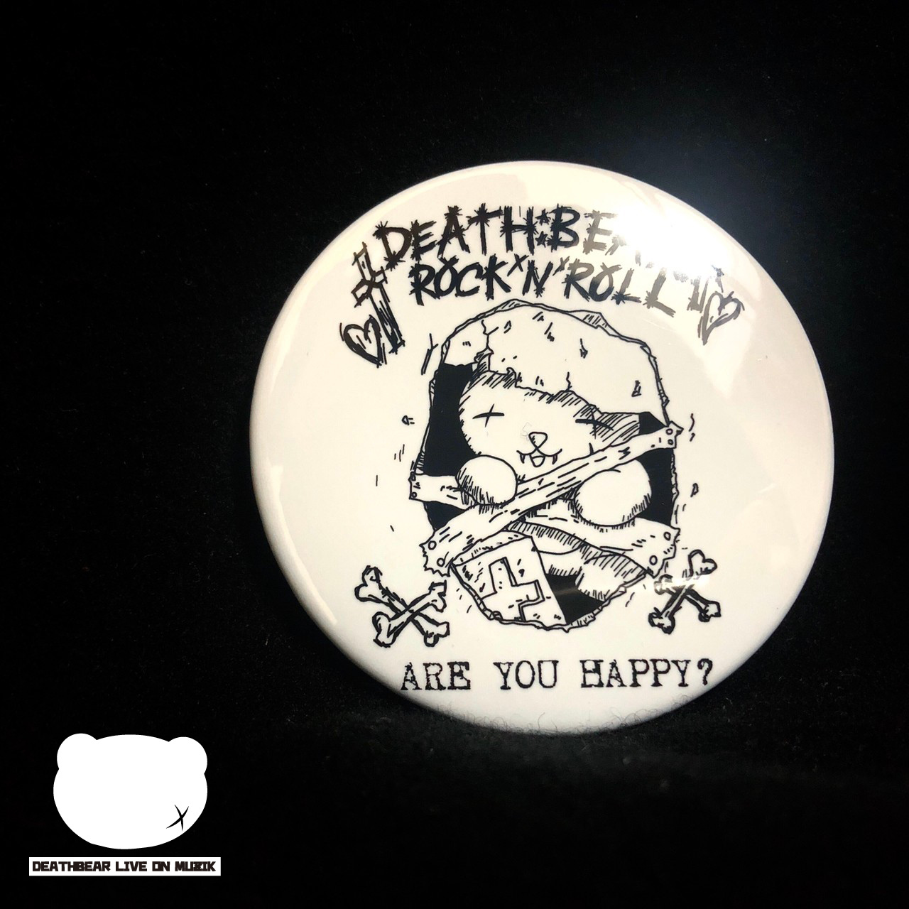 【ARE YOU HAPPY?】BADGE