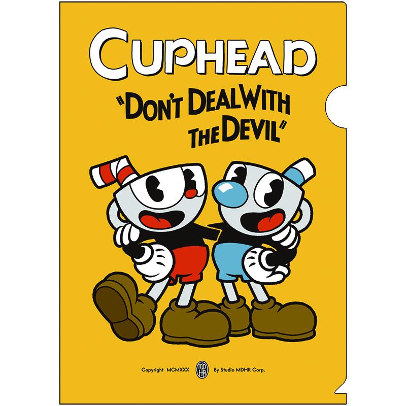 CUPHEAD ( カップヘッド ) A4クリアファイル① / エンスカイ