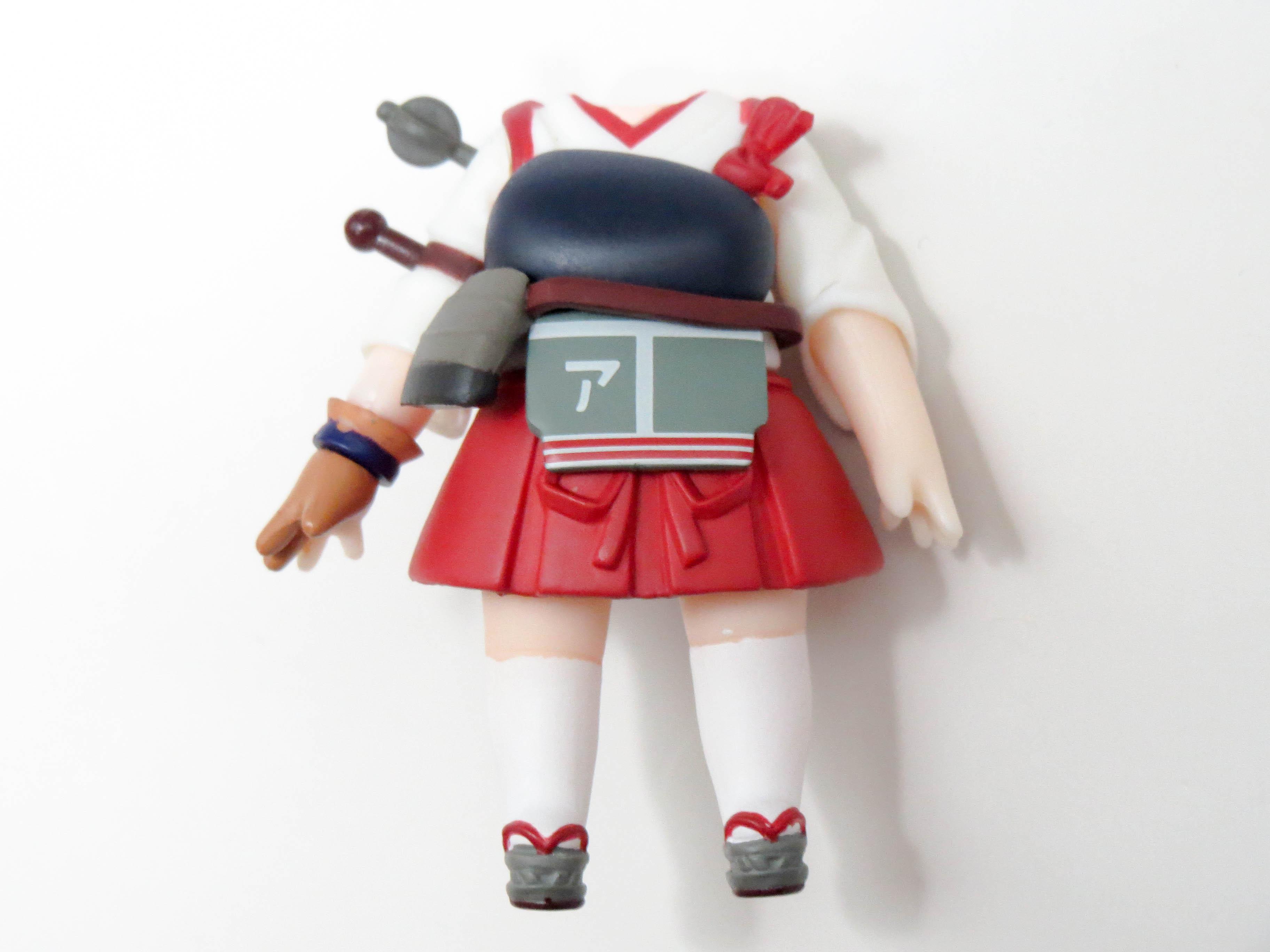 【391】 赤城 体パーツ 戦闘服 ねんどろいど