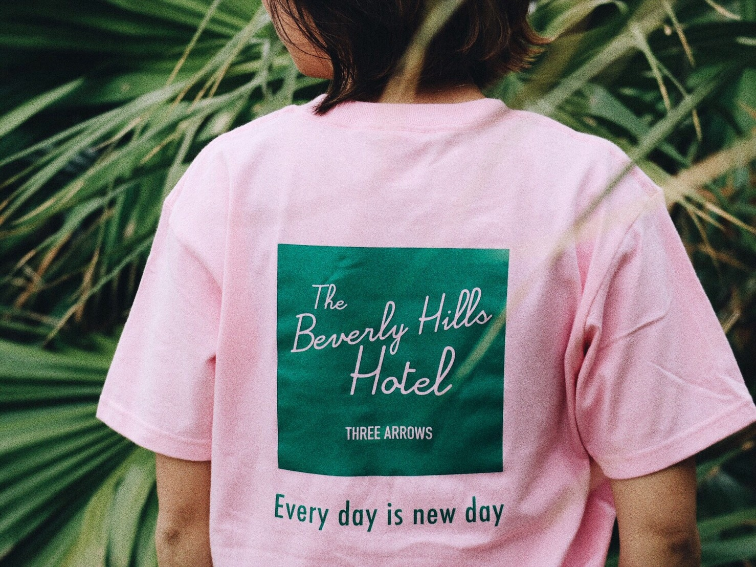 The BeverlyHills Hotel Tシャツ(peach)