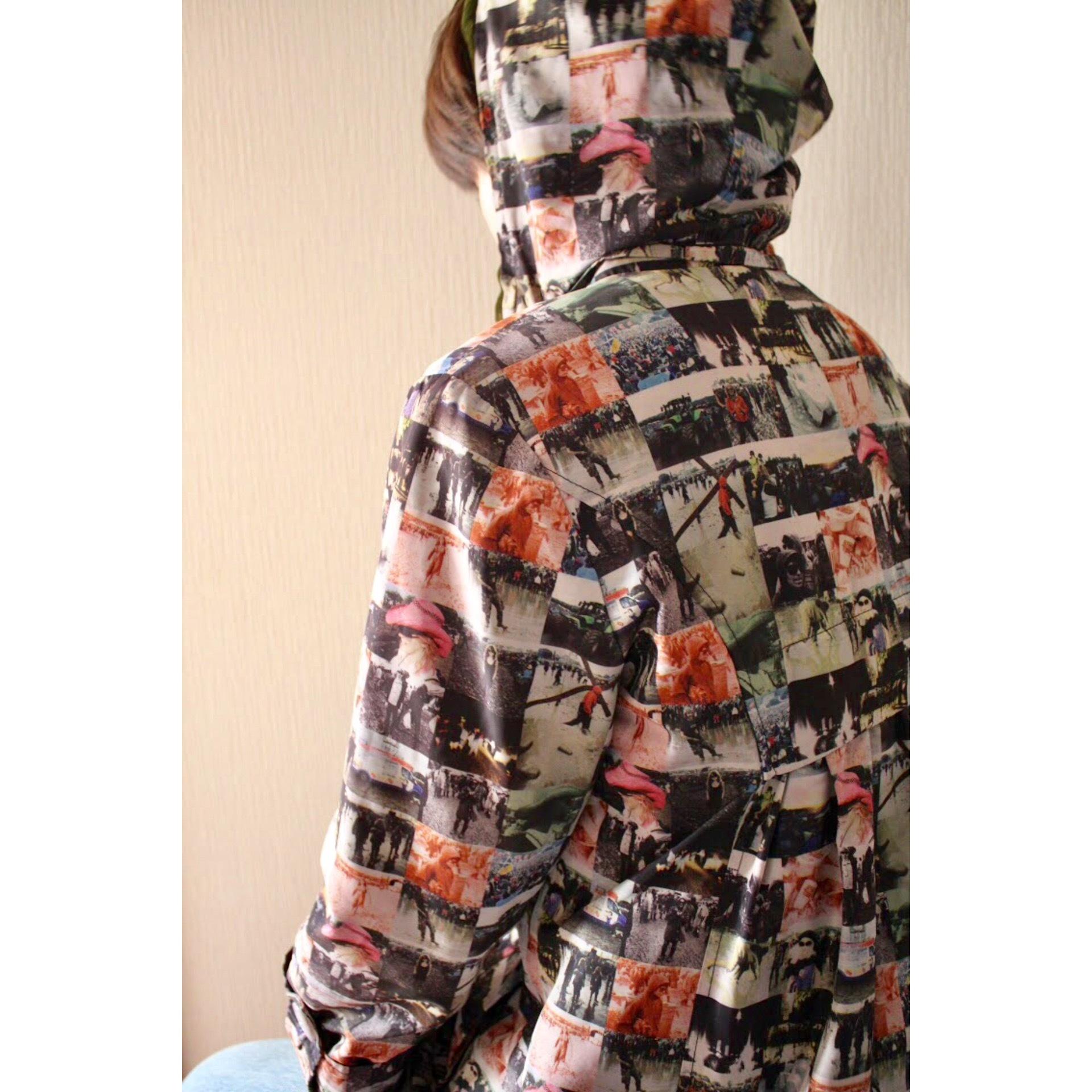 Vintage audience pattern jacket