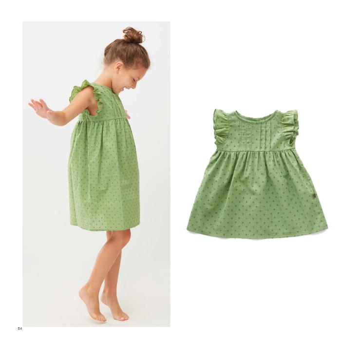 Oeuf swiss dot dress ( 4Y )