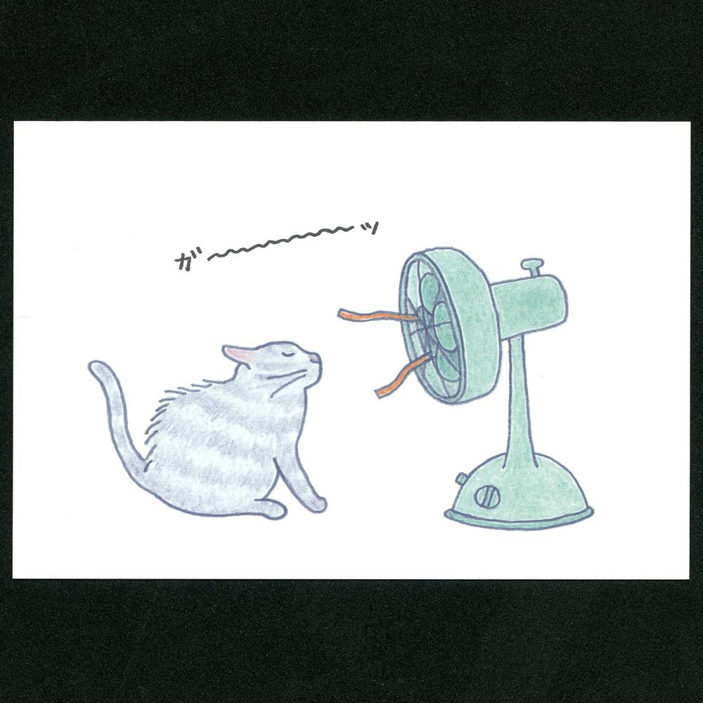 猫ポストカード(四季ガ~ッ)