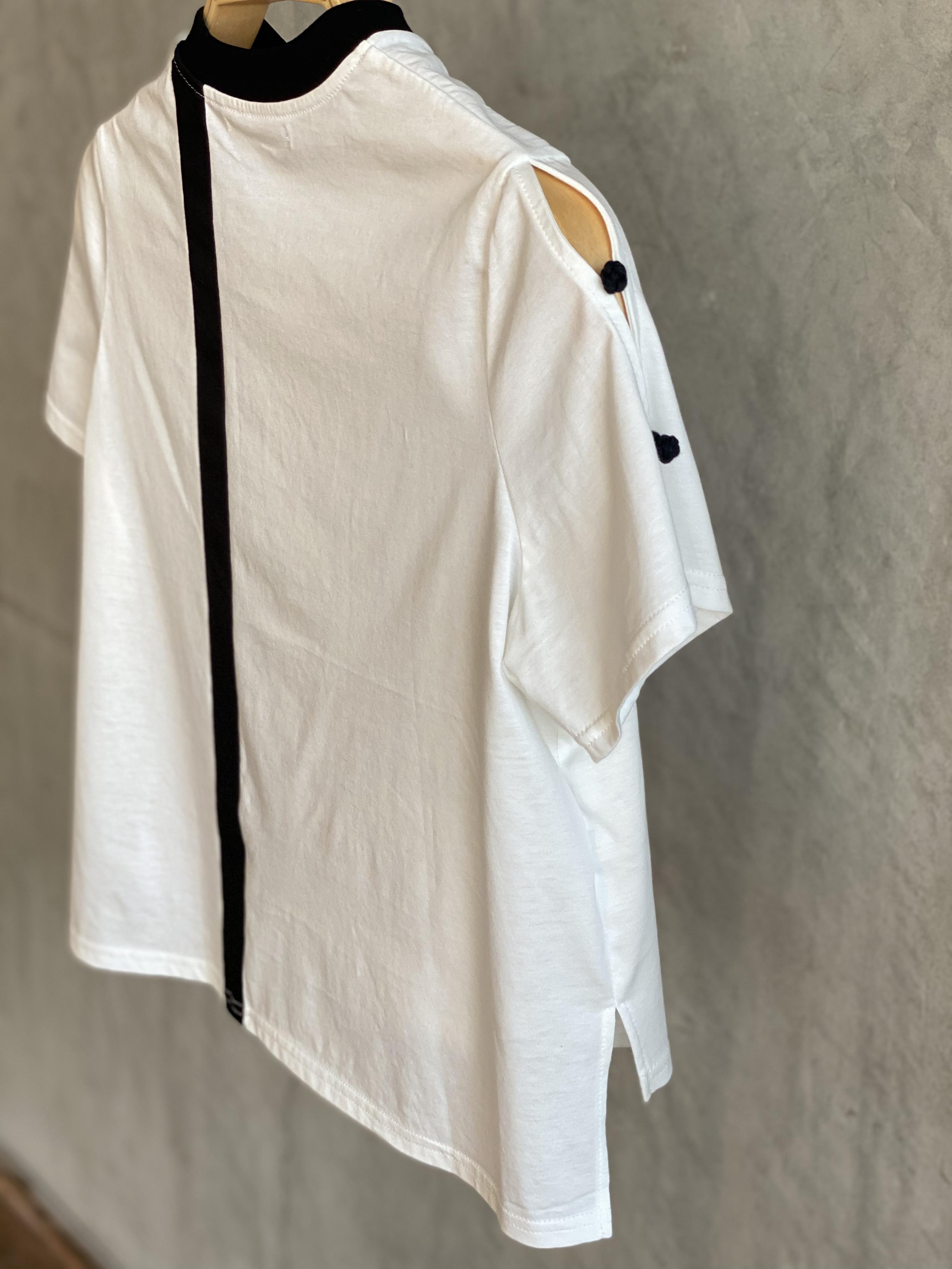 【受注生産・2月下旬〜4月頃お届け】Patch grass scent T-shirt