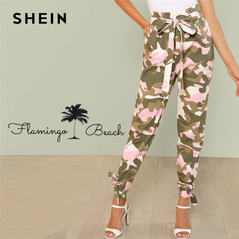 【FlamingoBeach】camouflage pants