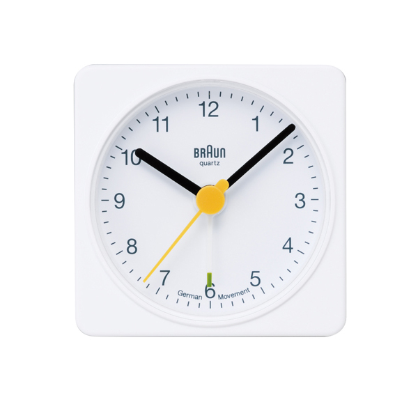 BRAUN Alarm Clock BNC002 ホワイト