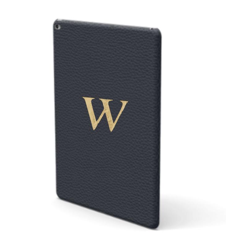 iPad Premium Shrink Leather Case (Navy)