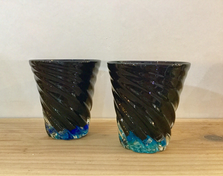 青の洞窟(大)  琉球ガラス工房 glass32