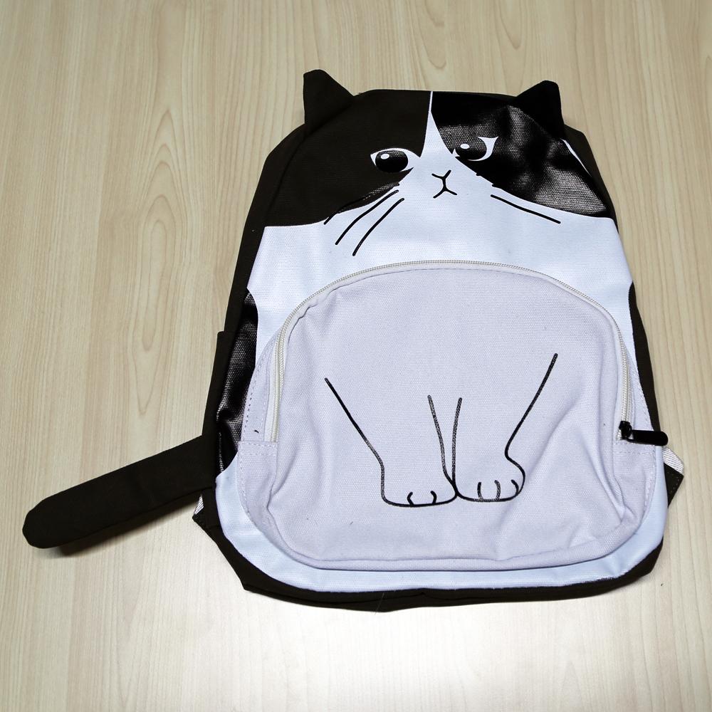 猫リュック(にゃんこリュック)ハチワレ猫