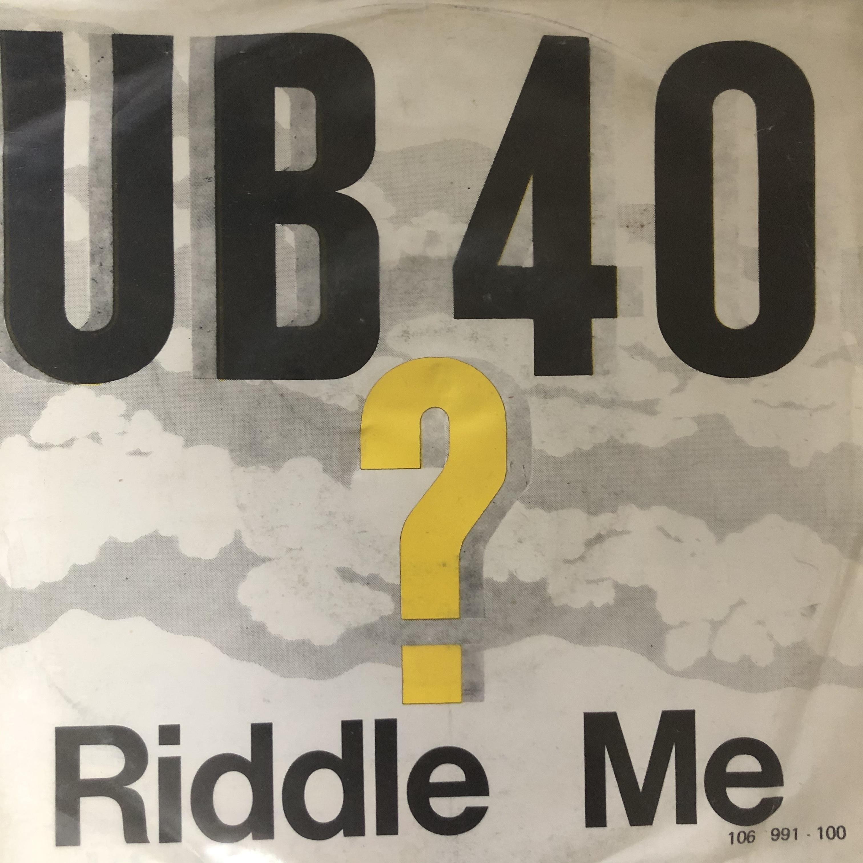 UB40 - Riddle Me【7-20542】