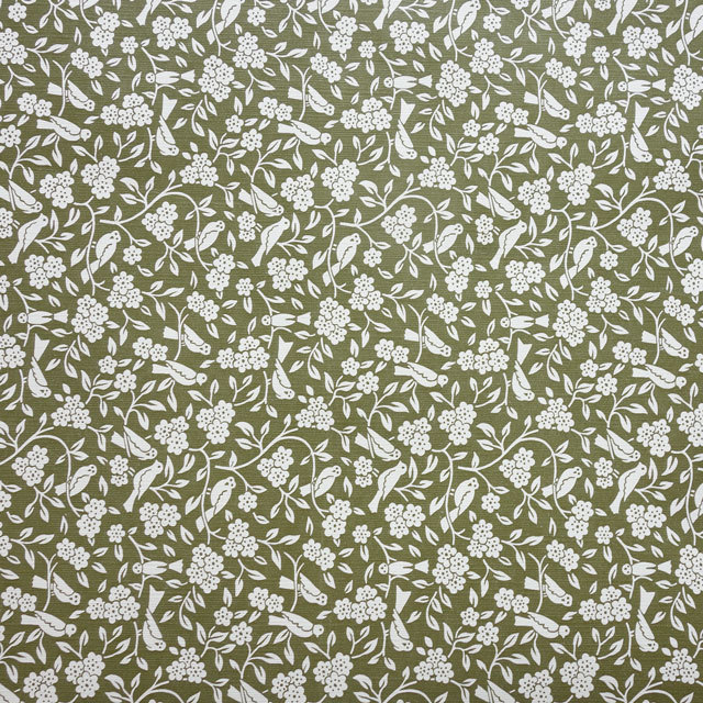 Danish vintage paper グリーンバード  デンマークのビンテージペーパー