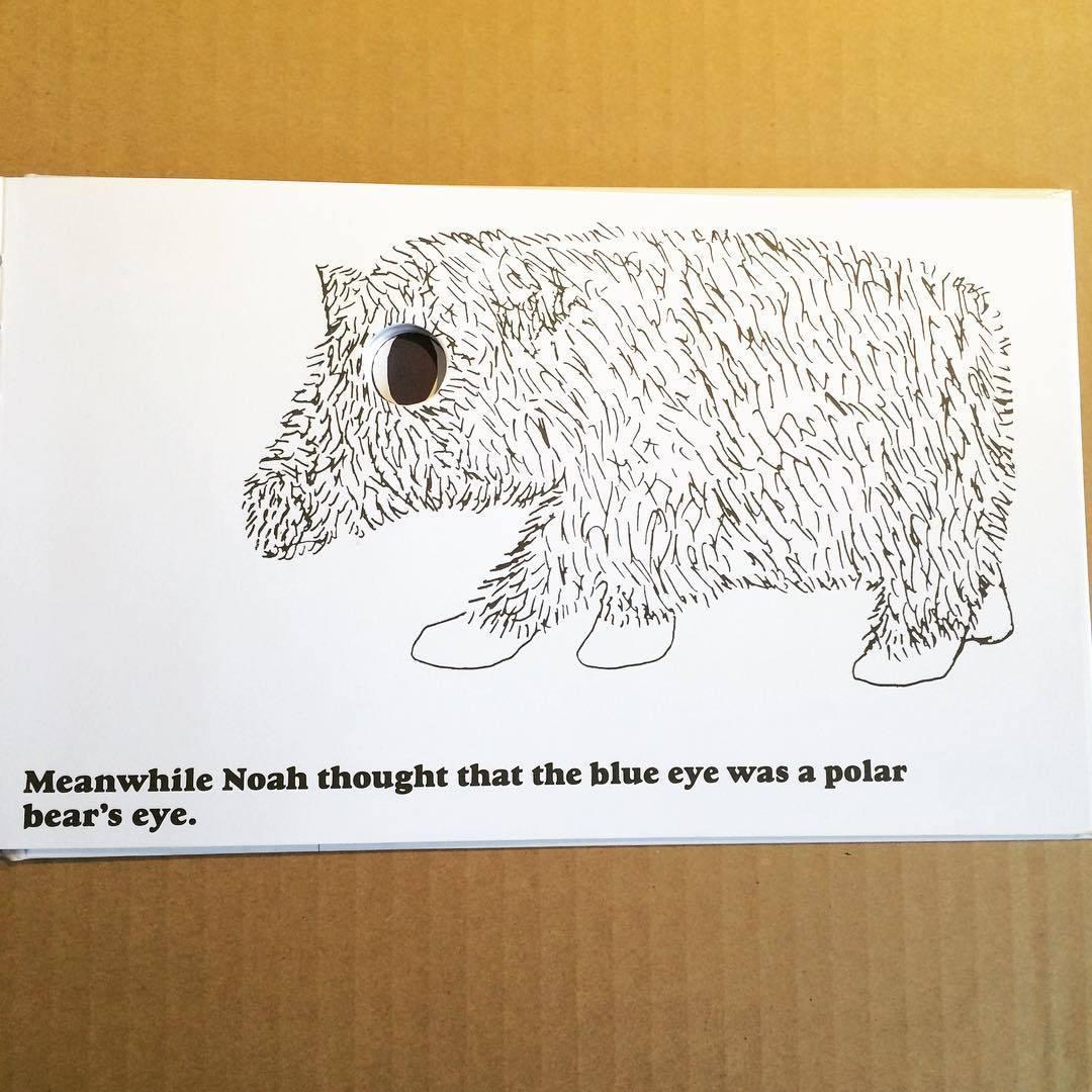 ボブ・ギル絵本「the green-eyed mouse and the blue-eyed mouse/bob gill」 - 画像3