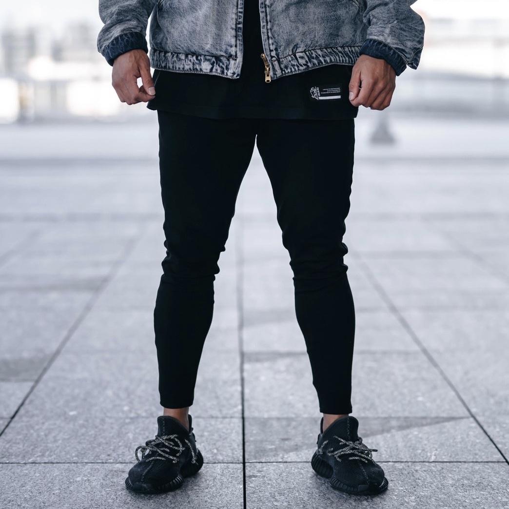 """""""Crusher"""" Jogger Pants ( Black )"""