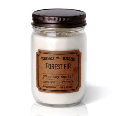 FOREST FIR CANDLE - BROAD STREET BRAND