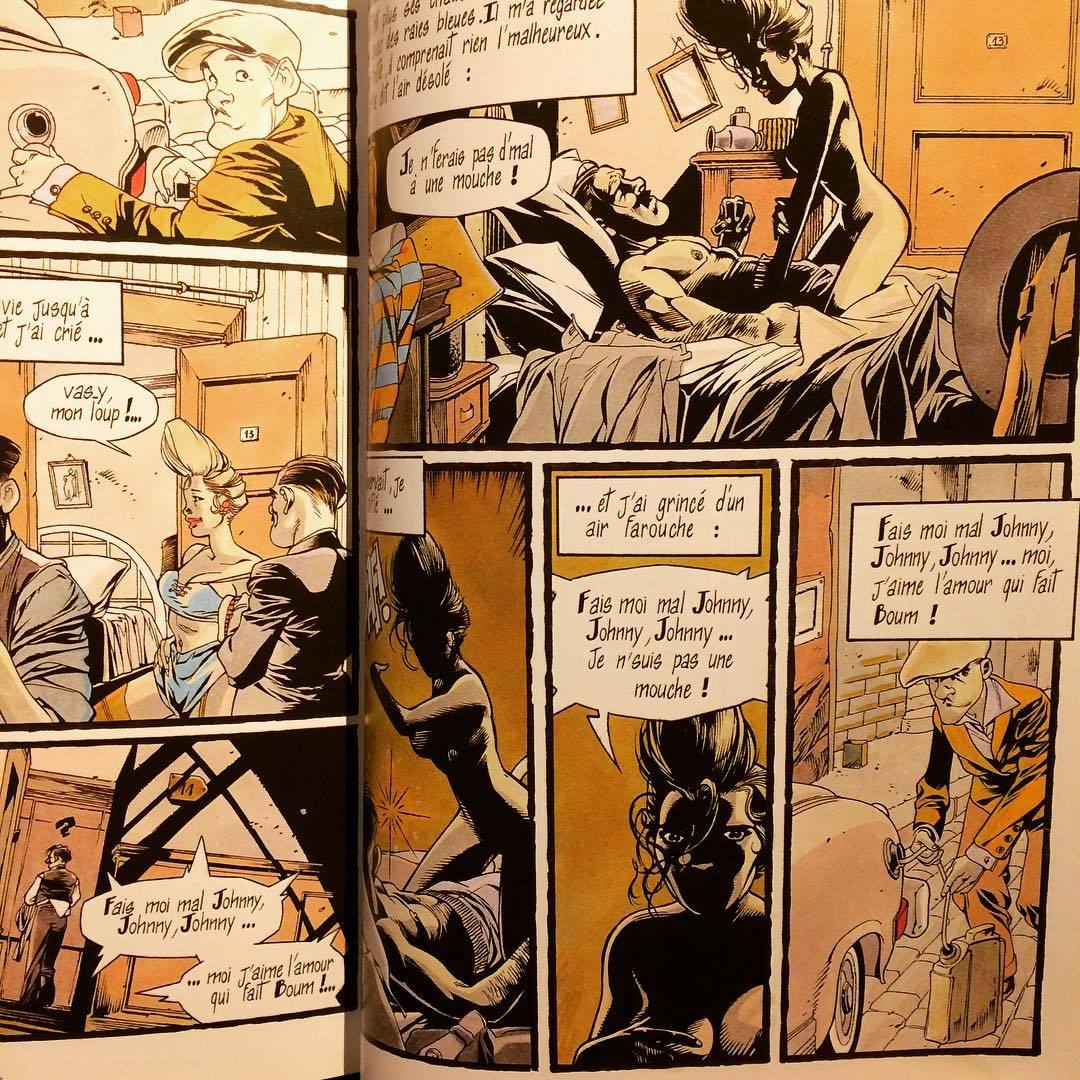 ボリス・ヴィアン バンド・デシネ「Chansons de Boris Vian en bandes dessinées」 - 画像3