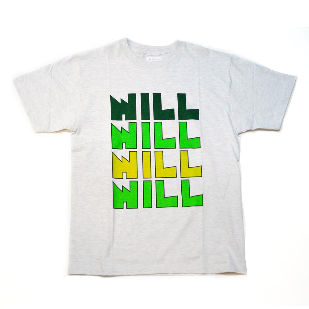 "WILL ""GOTSU"" LOGO TEE ( ASH )"