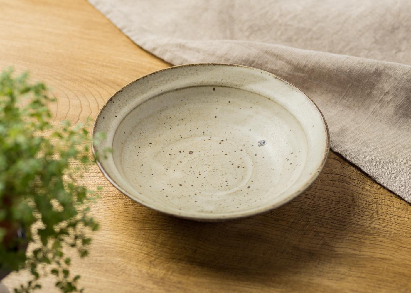 リム 浅鉢(中) 2/くるり窯