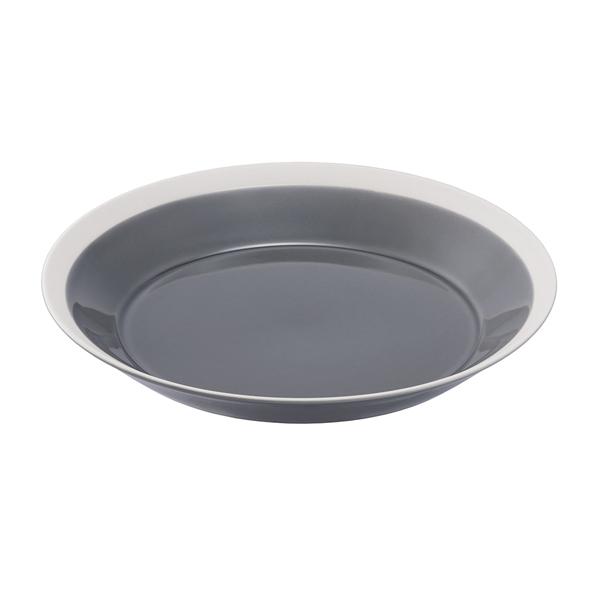 yumiko iihoshi porcelain Dishes プレート220 fog gray