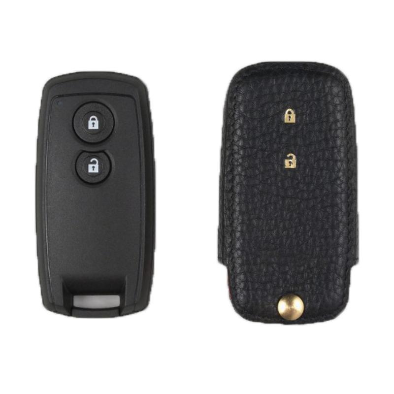 Suzuki専用 TypeC Car Key Case Shrink Leather Case