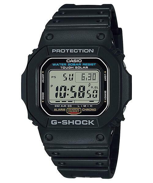 CASIO  カシオ G-SHOCK G-5600E-1 5600タフソーラー メンズ 腕時計