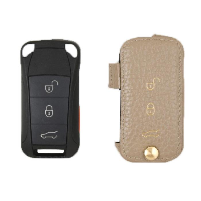 Porsche 専用 TypeC Car Key Case Shrink Leather Case