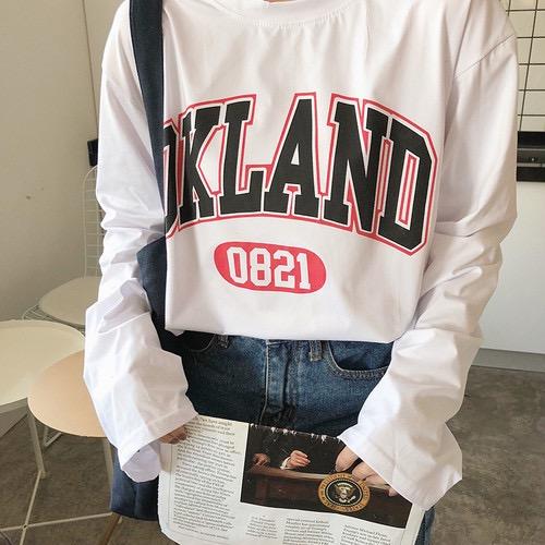 アメリカンルーズロングTシャツ