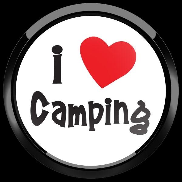 ゴーバッジ(ドーム)(CD1006 - I LOVE CAMPING 01) - 画像2