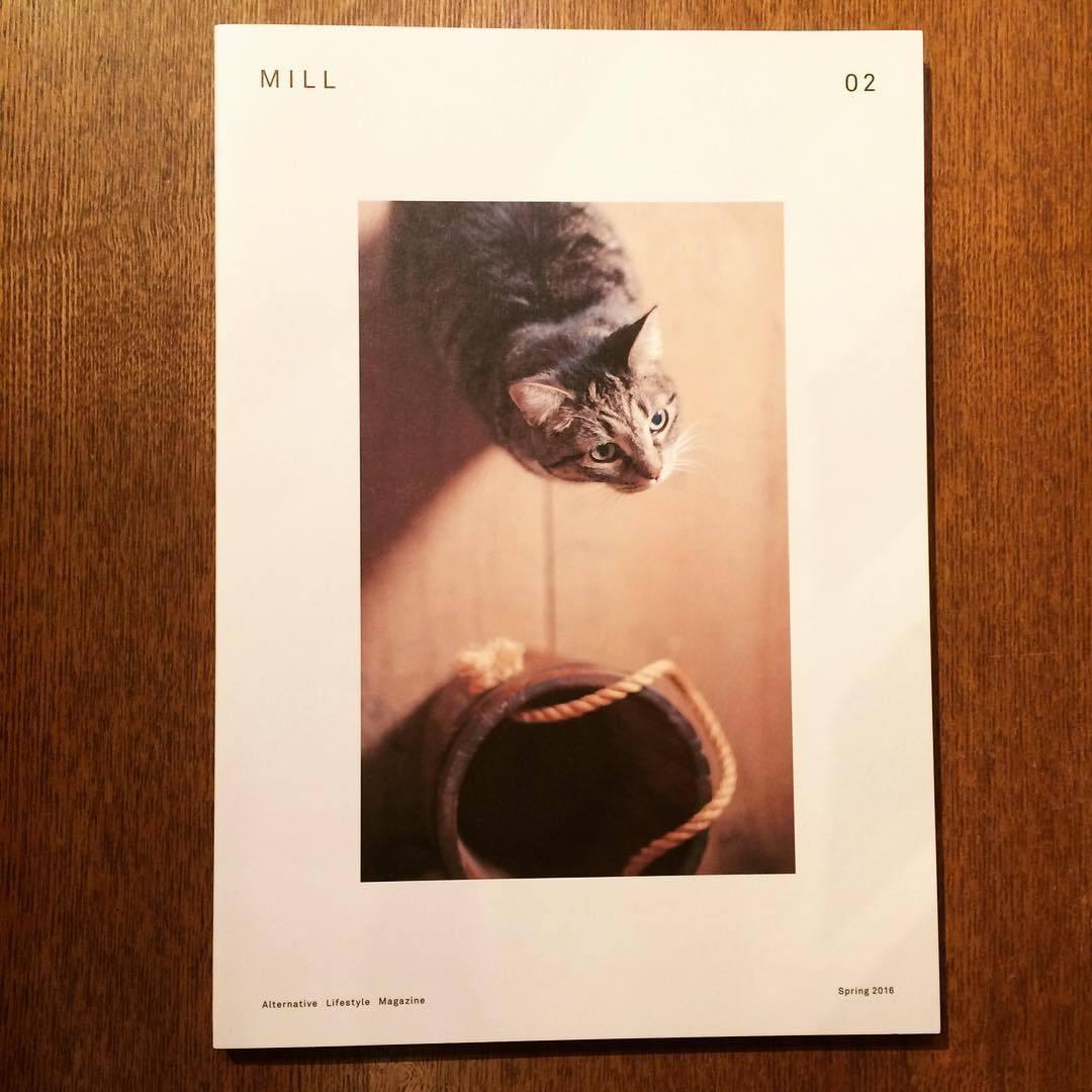 猫のリトルプレス「MILL Issue 01、02 2冊セット」 - 画像1